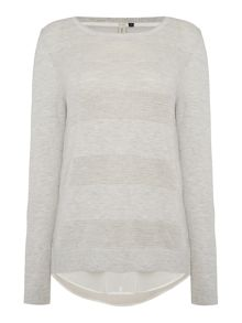 Maison De Nimes Textured Double Layer Knit