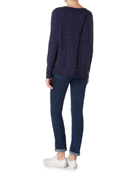 Maison De Nimes Split Back Nep Knit