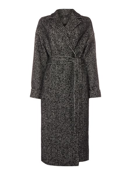 Label Lab Long belted textured coat