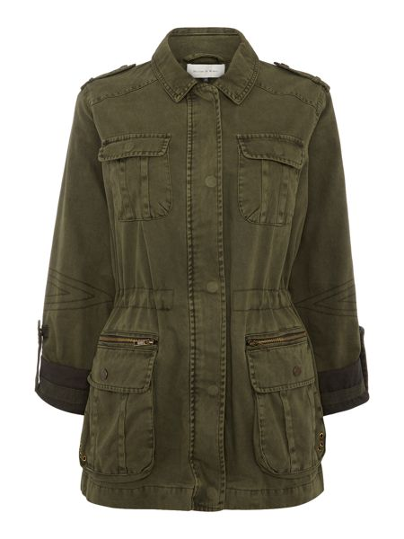 Maison De Nimes Washed Utility Jacket