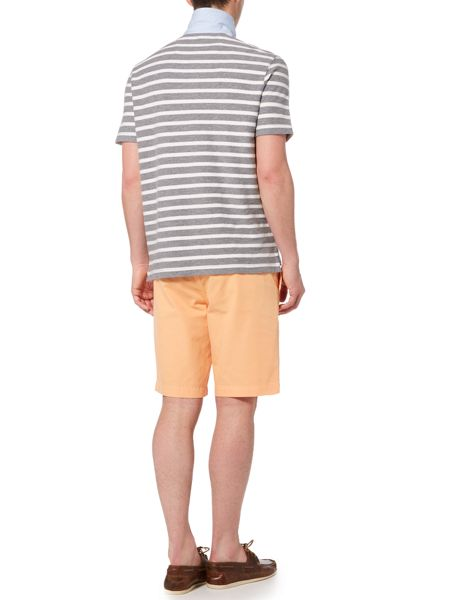 Howick Hubbard Textured Stripe Polo