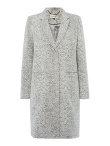 Maison De Nimes Textured Wool Coat