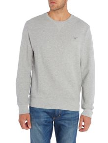 Gant Honey Comb Crew Neck Sweatshirt
