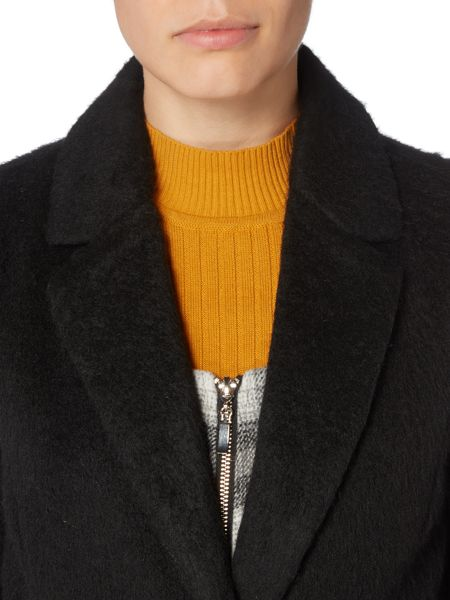 Therapy Thalia Textured Boyfriend Coat