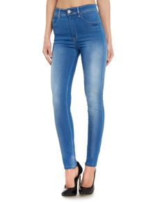 High waisted carrie skinny jeans
