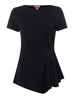 Top with Pleated Side Detail
