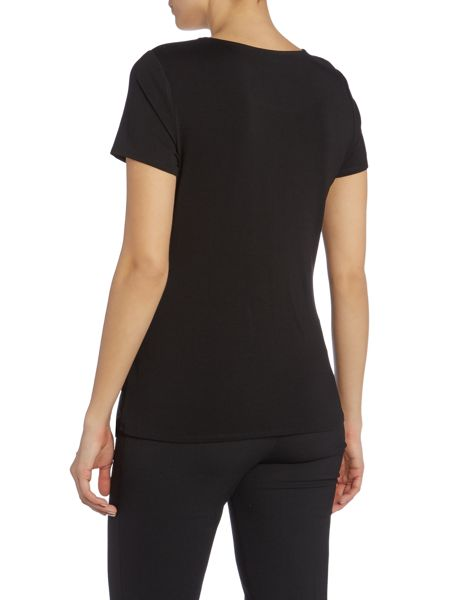Vince Camuto Top with Pleated Side Detail