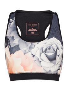 Ted Baker Monorose sports bra top