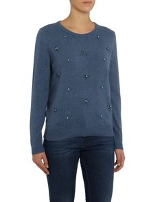 Dickins & Jones Tori Beaded Detail Jumper