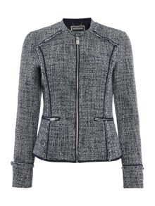 Salsa Boucle effect zip jacket