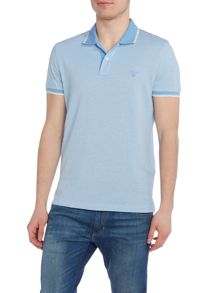 Gant Contrast Collar Polo Shirt