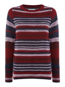 Dickins & Jones Sophie Stripe Knit Jumper