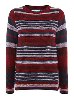 Sophie Stripe Knit Jumper