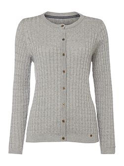 Claire Cable Knit Cardigan