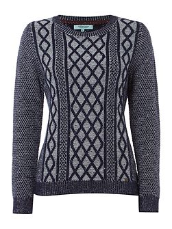 Casey Chunky Cable Jumper