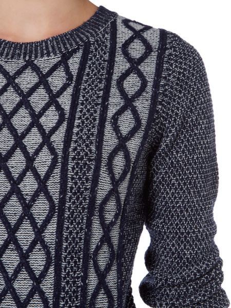 Dickins & Jones Casey Chunky Cable Jumper