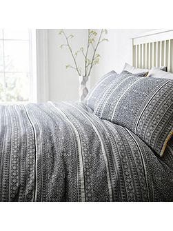 Global artisan jacquard bed linen set
