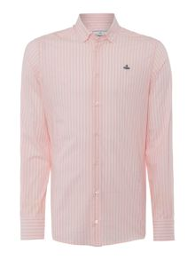 Vivienne Westwood Long sleeve button down striped shirt