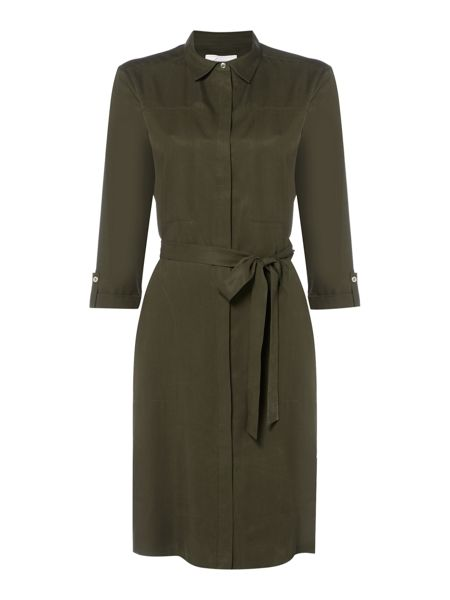 Linea Military shirt dress