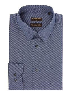 Oliviero italian fabric textured shirt