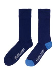 Levi's 2 pack seasonal regular sock