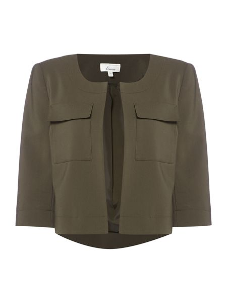 Linea Military style pocket detail jacket