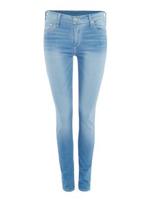 True Religion Halle skinny roll up jeans