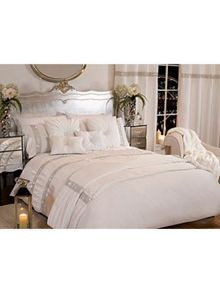 By Caprice Riviera diamante organza pillowcases
