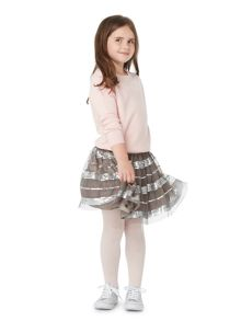 Little Dickins & Jones Girls Sequin tulle skirt