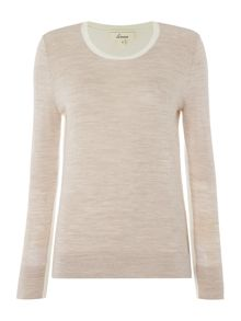 Linea Merino Colour Block Jumper