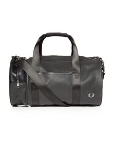 Fred Perry Scotchgrain barrel bag