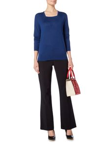 Linea Merino Square Neck Jumper