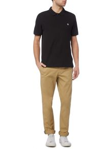 Original Penguin Cotton Raised-Rib short sleeve polo