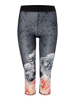 Monorose Border Crop Legging