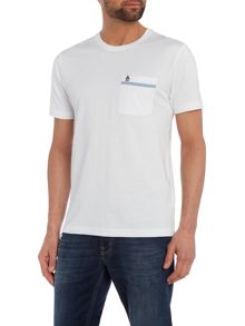 Original Penguin Tape pocket crew neck tee