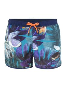 Bjorn Borg Short length flower print swim Shorts
