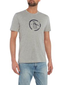 Original Penguin Distressed logo tee