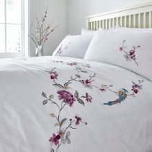 Linea Classic embroidery duvet cover set