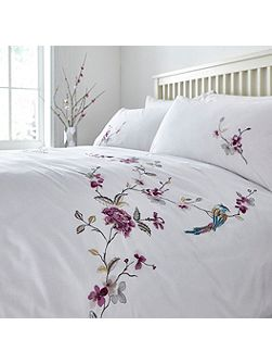 Classic embroidery duvet cover set