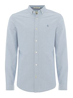 Long Sleeve straight up oxford shirt