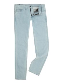 Levi's Line 8 511 slim tapered fit light blue jeans
