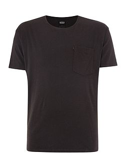 line 8 regular fit short sleeve pocket t