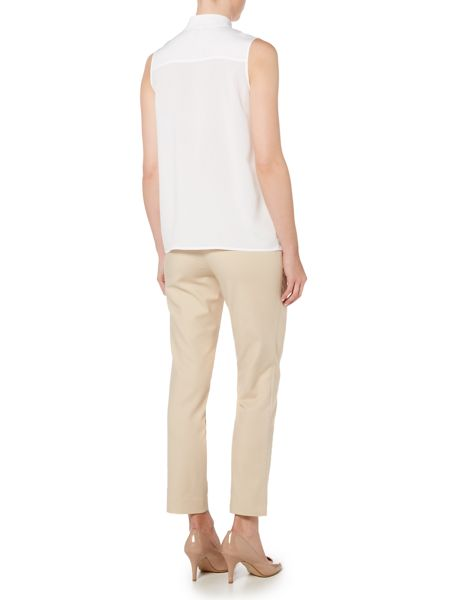 Episode Ankle length trousers with gold zip detail