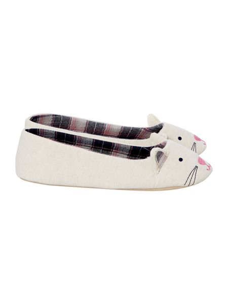 Therapy Cat Novelty Slipper