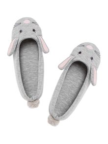 Therapy Rabbit Novelty Slipper