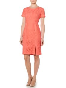 Episode Lace panel shift dress