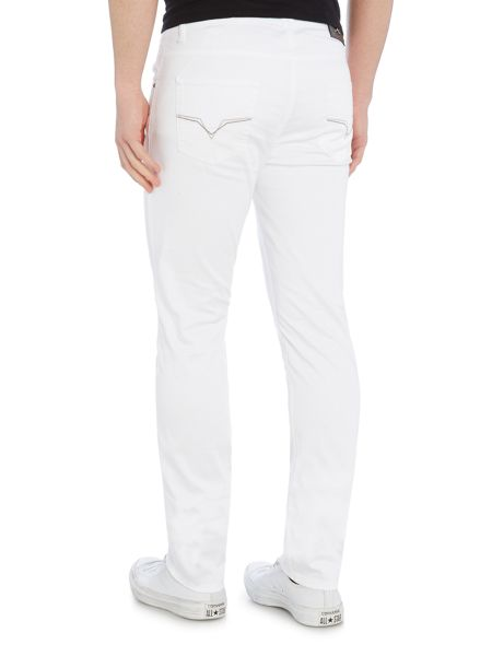Versace Jeans Slim fit white jeans