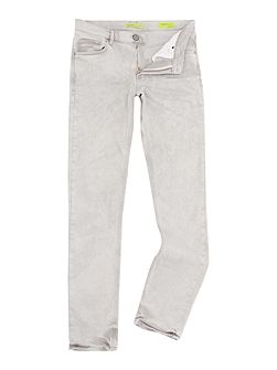 Slim fit grey wash jeans