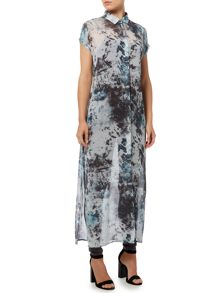 Gray & Willow Kivi print maxi tunic