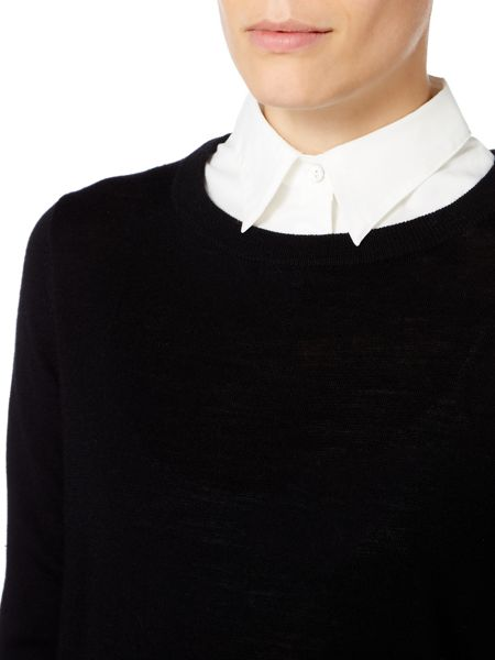 Linea Detachable collar jumper